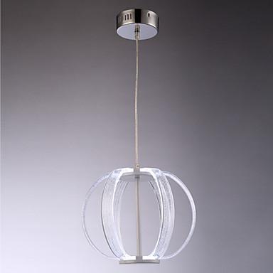 8W Traditionnel/Classique LED Peintures Acrylique Lampe suspendueSalle de séjour / Chambre à coucher / Salle à manger / Bureau/Bureau de