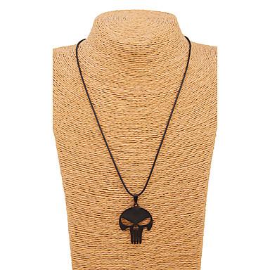 Herrn / Damen Anhängerketten - Schwarz Modische Halsketten Für Hochzeit, Party, Alltag