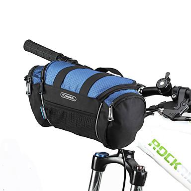 ROSWHEEL Fahrradtasche Umhängetasche Fahrradlenkertasche Feuchtigkeitsundurchlässig Wasserdichter Reißverschluß tragbar Stoßfest Tasche