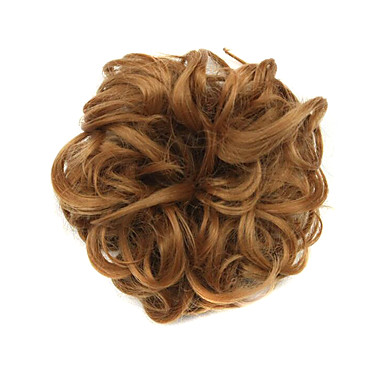 Chignons/Haarknoten Synthetische Perücken Locken Klassisch Stufenhaarschnitt Gute Qualität Dichte Damen Cosplay Perücke Kurz Synthetische
