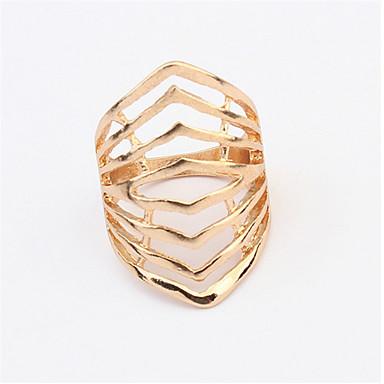 Novo design moda luxo 18k rosa banhado a ouro anel multicamada anéis genuínos para mulheres homem