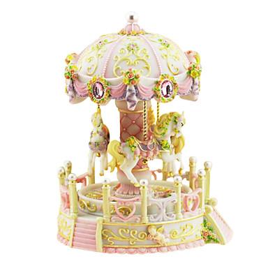 abs rosa / hvit / lilla / blå kreative romantisk musikk boksen for gave
