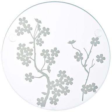 COASTER(Weiß,Glas) -Strand Thema / Garten Thema / Asiatisches Thema / Blumen Thema / Schmetterling Thema / Klassisches Thema / Märchen