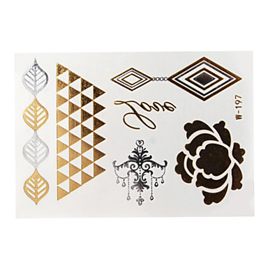 Airbrush-Tattoo Schablonen- fürDamen Erwachsener--Papier-Stück -