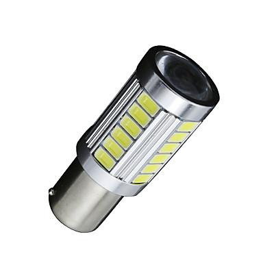 SO.K 2pcs BA15S (1156) Coche Bombillas 7 W SMD 5630 700 lm 33 Luz de Circulación Diurna For Universal Todos los modelos Todos los Años