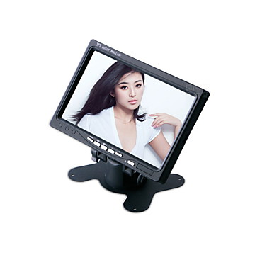 7-inčni 800 * 480 TFT-LCD automobil osvrtnog monitor sa postoljem preokrenuti backup kamera visoke kvalitete.