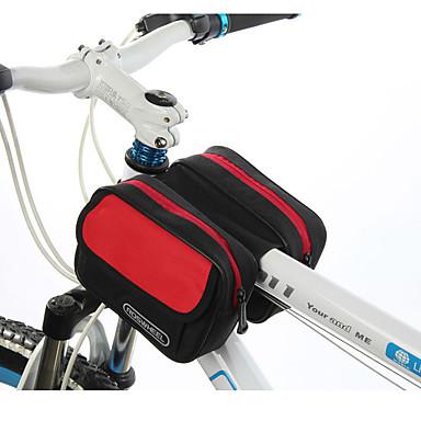 ROSWHEEL® Kerékpáros táska 1.7LVáztáska Vízálló cipzár / Párásodás gátló / Ütésálló / Viselhető Kerékpáros táskaPVC / Ruhaanyag /