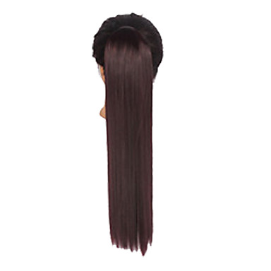 Cross Type Ponytails Synthetic Hair Hair Piece Hair Extension Straight