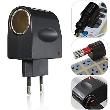 European new stylish best price 220v ac para 12v dc carro isqueiro parede poder tomada plug adaptador conversor