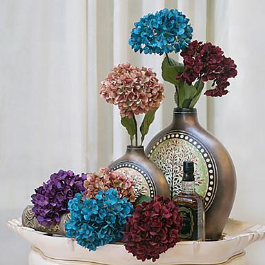 Selyem Hortenzia Művirágok