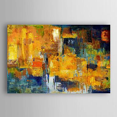 Hand bemalt abstrakten Ölgemälde Donner mit gestreckten Rahmen 7 Wand ARTS®