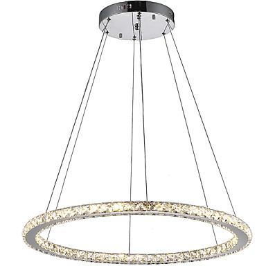 Lámparas Colgantes ,  Moderno / Contemporáneo Galvanizado Característica for Cristal LED MetalSala de estar Dormitorio Comedor Cocina