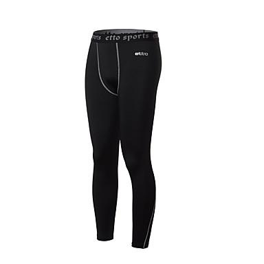 בגדי ריקוד גברים טייץ לריצה דחיסה טייץ רכיבה על אופניים מכנסיים חותלות תחתיות ל כושר גופני ריצה צמוד M L XL