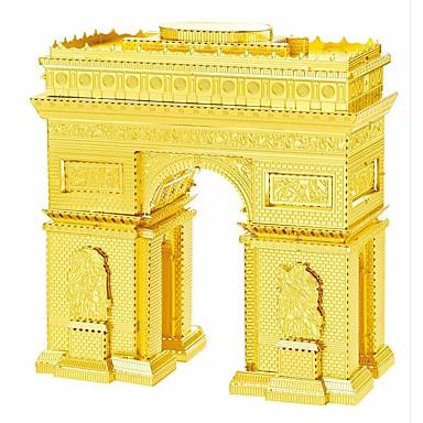 Puzzles 3D - Puzzle / Metallpuzzle Bausteine DIY Spielzeug Berühmte Gebäude Metall Silber / Gold Model & Building Toy