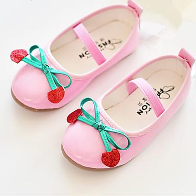 (Svart / Rosa / Hvit)Mary Jane-Flate sko-Kunstlær-GIRL