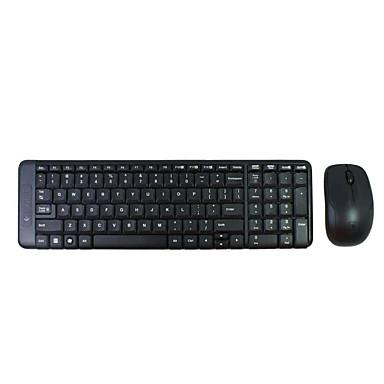 Original logitech mk215 drahtlose Tastatur-Maus-Combo 2.4G Wireless USB-Empfänger / wasserdicht / für Büro / Desktop / Laptop