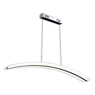 Moderni/nykyaikainen LED Riipus valot Tunnelmavalo Käyttötarkoitus Olohuone Työhuone/toimisto Lämmin valkoinen Valkoinen 3200lm 110-120V