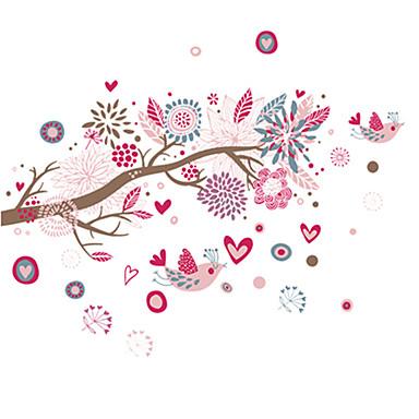Tiere / Botanisch / Cartoon Design / Stillleben / Mode / Blumen / Freizeit Wand-Sticker Flugzeug-Wand Sticker,PVC 90*60*0.1