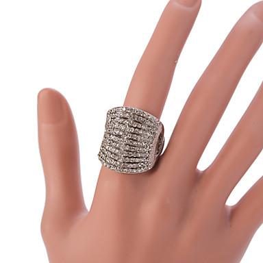 Feminino Maxi anel Moda Vintage Ajustável bijuterias Liga Jóias Para Festa Diário Casual