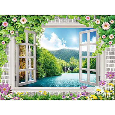 Art Deco Haus Dekoration Moderne Wandverkleidung, Segeltuch Stoff Klebstoff erforderlich Wandgemälde, Zimmerwandbespannung