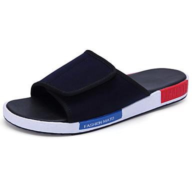 Alkalmi-Férfi cipő-Szandál-Szövet-Kék