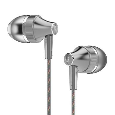 UiiSii UiiSii HM7 Dans l'oreille Câblé Ecouteurs Dynamique Aluminum Alloy Téléphone portable ÉcouteurIsolation du bruit Avec Microphone