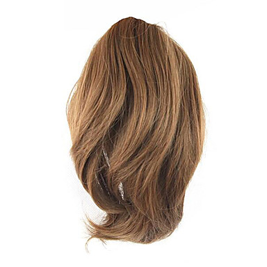 Pferdeschwanz Synthetische Haare Haarstück Haar-Verlängerung Natürlich gewellt
