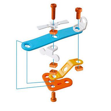 אבני בניין ערכות לבניית מודלים צעצוע חינוכי צעצועים כלי טיס פלסטי 108 חתיכות