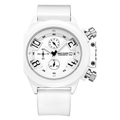 Herren Kleideruhr Quartz Armbanduhren für den Alltag Silikon Band Schwarz Marke