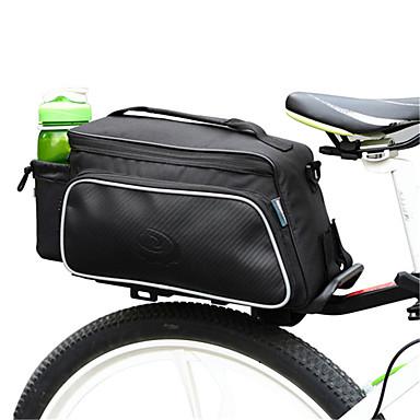 billige Sykkelvesker-ROSWHEEL 10 L Vesker til bagasjebrettet Vanntett Anvendelig Støtsikker Sykkelveske Klede polyester PVC Sykkelveske Sykkelveske Sykling / Sykkel