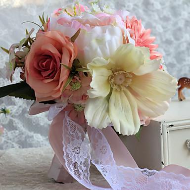 Hochzeitsblumen Sträuße Hochzeit Satin 24 cm ca.