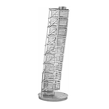 voordelige 3D-puzzels-3D-puzzels Houten puzzels Metalen puzzels Beroemd gebouw Scheve toren van Pisa Metaal Jongens Meisjes Speeltjes Geschenk