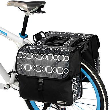 ROSWHEEL Sac de Vélo 28LSac de Porte-Bagage/Double Sacoche de Vélo Sac à bandoulière Etanche Vestimentaire Résistant aux ChocsSac de