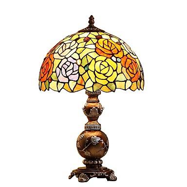 Tiffany Øyebeskyttelse Skrivebordslampe Til Harpiks 110-120V 220-240V