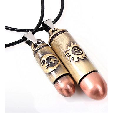 Colliers Tendance Pendentif de collier Bijoux Mariage / Soirée / Quotidien / Décontracté / Sports Cuir / Acier au titane Cuivré 1pc Cadeau