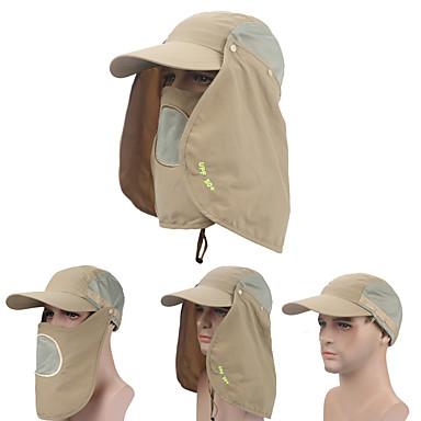Fischerkappe UV - Schutzmütze Mütze gegen Mücken Flügelärmel Hut Gesichtsmaske Visiere Frühling Sommer Herbst Winter Rasche Trocknung