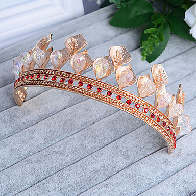 Krystal / Rhinsten / Legering Tiaras med 1 Bryllup / Speciel Lejlighed Medaljon
