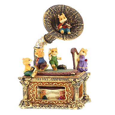 Caixa de música Brinquedos Retro Pato Vintage Retro Peças Dom