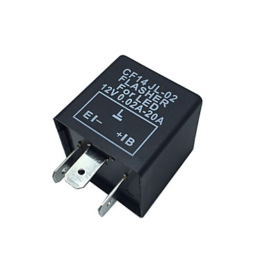 LED-uri Motociclete auto de 12V releu electronic Fix Blinker Indicator Flasher