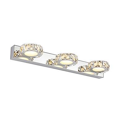 Modern / Zeitgenössisch Badezimmerbeleuchtung Metall Wandleuchte IP44 90-240V MAX 3W