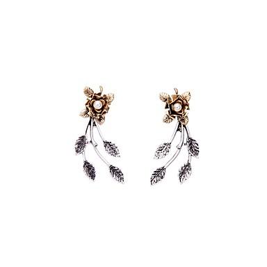 ファッション ボヘミアスタイル 欧風 合金 幾何学形 青銅色 ジュエリー のために パーティー 日常 カジュアル 1ペア