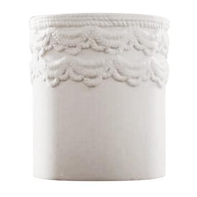 maison moderne décoration de style vase en céramique blanche