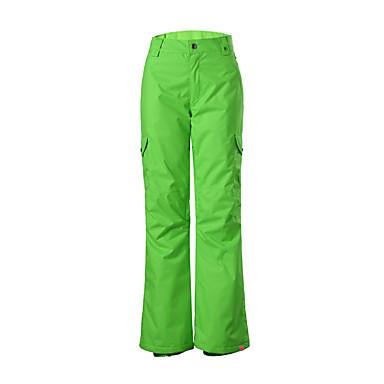 GSOU SNOW Damen Wasserdicht warm halten Rasche Trocknung Windundurchlässig UV-resistant tragbar Atmungsaktiv Skifahren Camping & Wandern