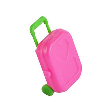 acessórios sonho da princesa mala carrinho de armazenamento de bagagem recipiente jogo de simulação brinquedos casa