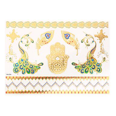 Smykke Serier Gull Papir tatovering forsyning komplett papir Tatoveringsmal