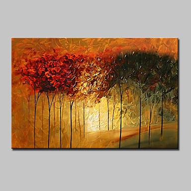 Peint à la main Abstrait Horizontale,Moderne Un Panneau Toile Peinture à l'huile Hang-peint For Décoration d'intérieur