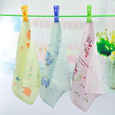 Frischer Stil Waschtuch, Reaktiver Druck Gehobene Qualität 100% Baumwolle Gestrickt Handtuch