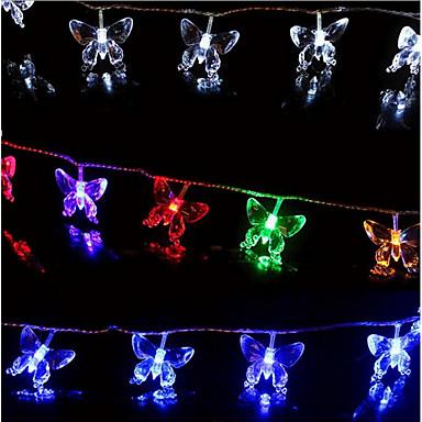 Cordões de Luzes lm AC220 V 10 m 100 leds RGB
