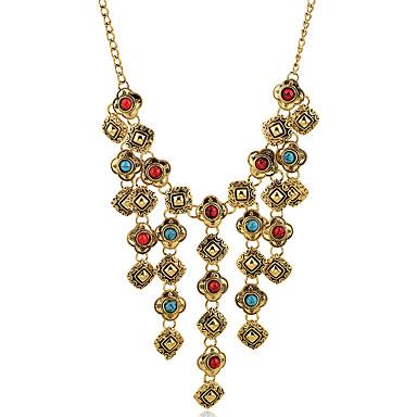 Damen Schmuck-Set - Quaste, Europäisch Einschließen Halskette / Ohrringe Golden Für Hochzeit / Party / Alltag / Halsketten