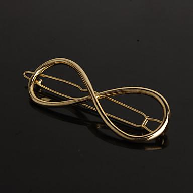 Krystal / Stof / Legering Tiaras / Hårspænde / barrette med 1 Bryllup / Speciel Lejlighed / Fest / aften Medaljon / Hair Pin